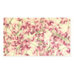 Pink Wisteria Business Card