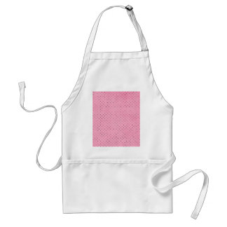 Pink with Black Polka Dots Standard Apron