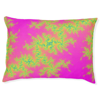 Pink with green fractal