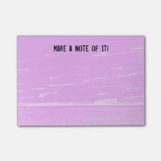 Pink wood notes template
