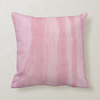 Pink Wood Throw Cushion
