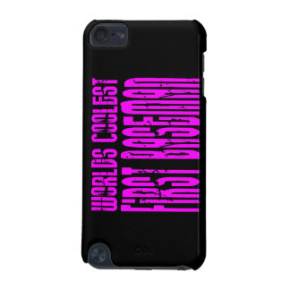Pink Worlds Coolest First Baseman iPod Touch (5th Generation) Covers