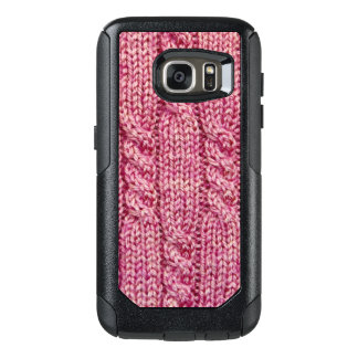 Pink Yarn Cabled Knit OtterBox Samsung Galaxy S7 Case