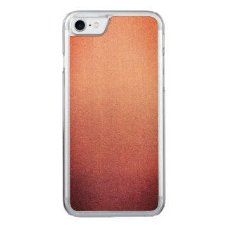 Pink Yarrow Ombre Glitter Sand Look Carved iPhone 8/7 Case