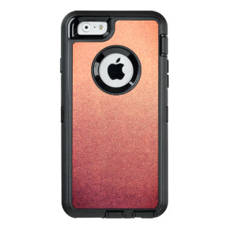 Pink Yarrow Ombre Glitter Sand Look OtterBox Defender iPhone Case