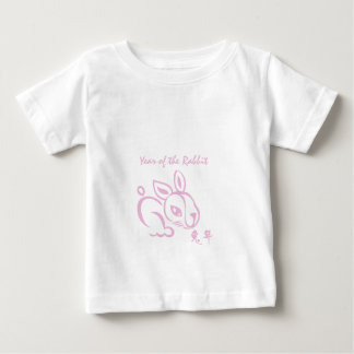 Pink Year of the Rabbit - Chinese New Year T Shirts