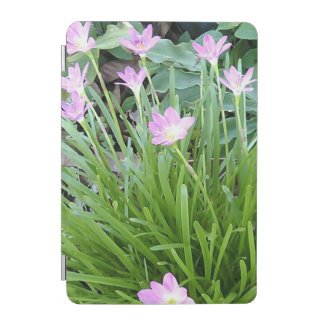 PINK YELLOW AND WHITE FLOWER iPad MINI COVER