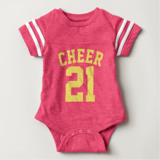 Pink & Yellow Baby | Sports Jersey Design T Shirt