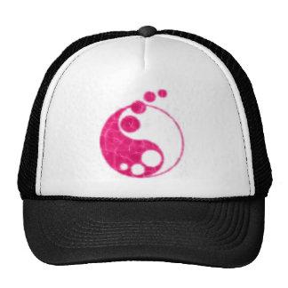 pink yin yang cap