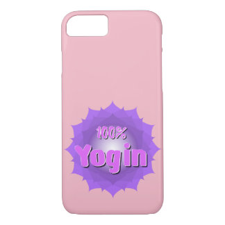 Pink Yoga iPhone 7 case for yogins