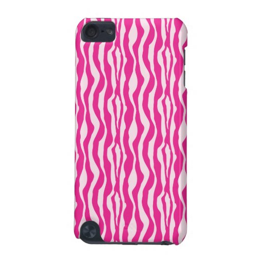 Pink Zebra iPod Touch 5G Cases