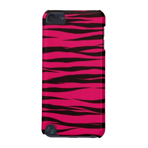 Pink Zebra ipod touch case