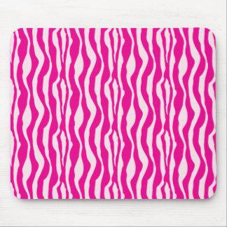 Pink Zebra Mouse Mat