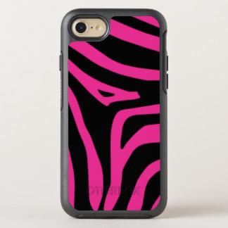Pink Zebra OtterBox Symmetry iPhone 8/7 Case