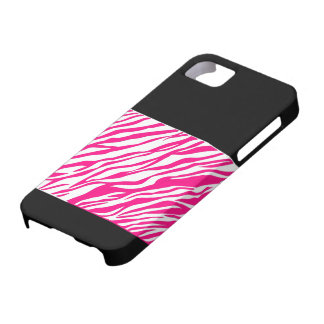 pink zebra phonecase barely there iPhone 5 case