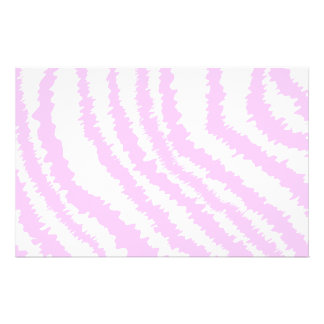 Pink Zebra Print, Animal Pattern. 14 Cm X 21.5 Cm Flyer