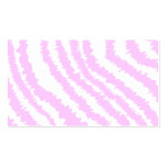 Pink Zebra Print, Animal Pattern. Double-Sided Standard Business Cards (Pack Of 100)