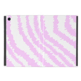 Pink Zebra Print, Animal Pattern. Cover For iPad Mini
