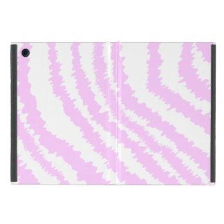 Pink Zebra Print, Animal Pattern. iPad Mini Cover