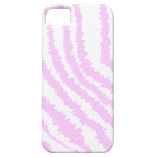 Pink Zebra Print, Animal Pattern. iPhone 5 Cover