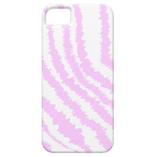 Pink Zebra Print, Animal Pattern. iPhone 5 Cover