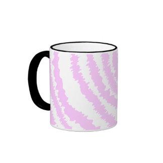 Pink Zebra Print Animal Pattern Mug