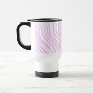 Pink Zebra Print Animal Pattern Coffee Mug