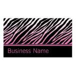 Pink Zebra Print Hair Stylist Hairdresser Salon