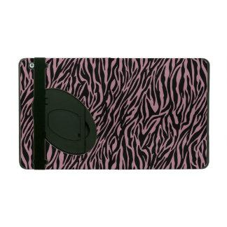Pink Zebra Print iPad Folio Case