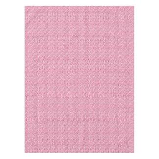 Pink Zebra Print Tablecloth