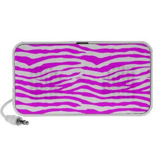 Pink Zebra Stripes Mp3 Speaker