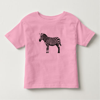 Pink Zebra Toddler T-Shirt