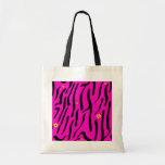 Pink Zebra Tote Tote Bag
