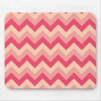 Pink ZigZag Mouse Pad