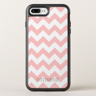 Pink Zigzag Stripes Chevron Pattern Girly OtterBox Symmetry iPhone 7 Plus Case