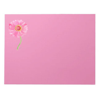Pink Zinnia Note pad
