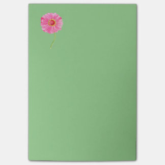 Pink Zinnia Post-it Note