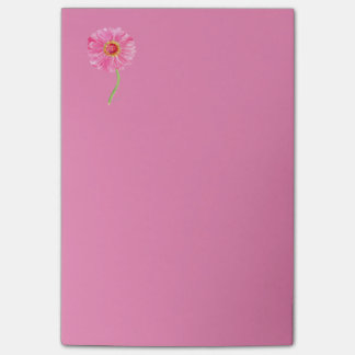 Pink Zinnia Post-it Note