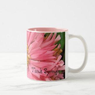 Pink Zinnia - Think Spring! Mug