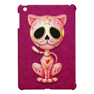Pink Zombie Sugar Kitten iPad Mini Cover