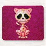 Pink Zombie Sugar Kitten Mouse Mat