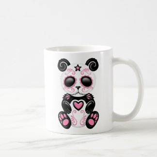 Pink Zombie Sugar Panda Coffee Mugs