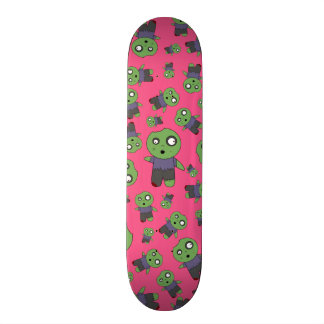 Pink zombies skate boards