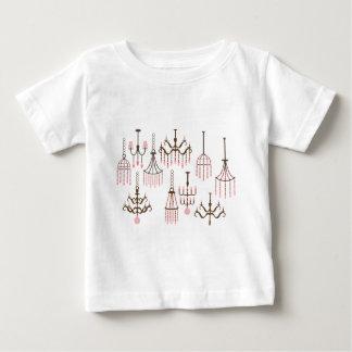 PinkChandelier1 Baby T-Shirt