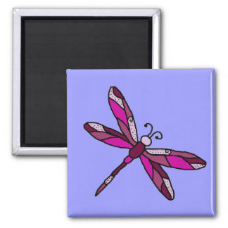 Pinkie Dragonfly magnet