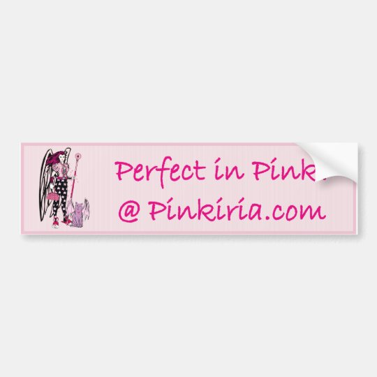 Pinkiria Bumper Sticker