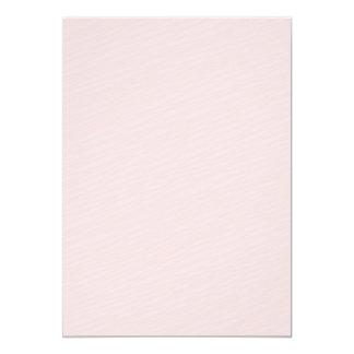 Pinkish striped pattern special gift 13 cm x 18 cm invitation card