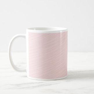 Pinkish striped pattern special gift mug