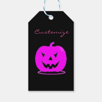 PinkJack o'lantern Halloween Thunder_Cove Gift Tags