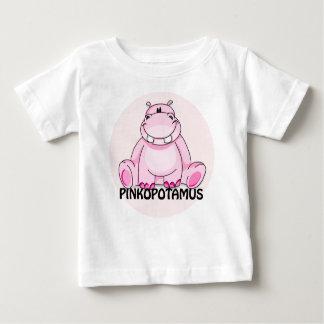 pinkopotamus 1 baby T-Shirt